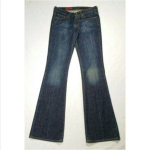 AG Women The Club Size W25 L33 Flare Jeans 2920E1M